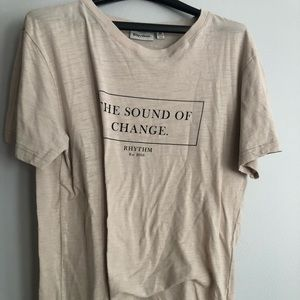 new shirt the sound of change top